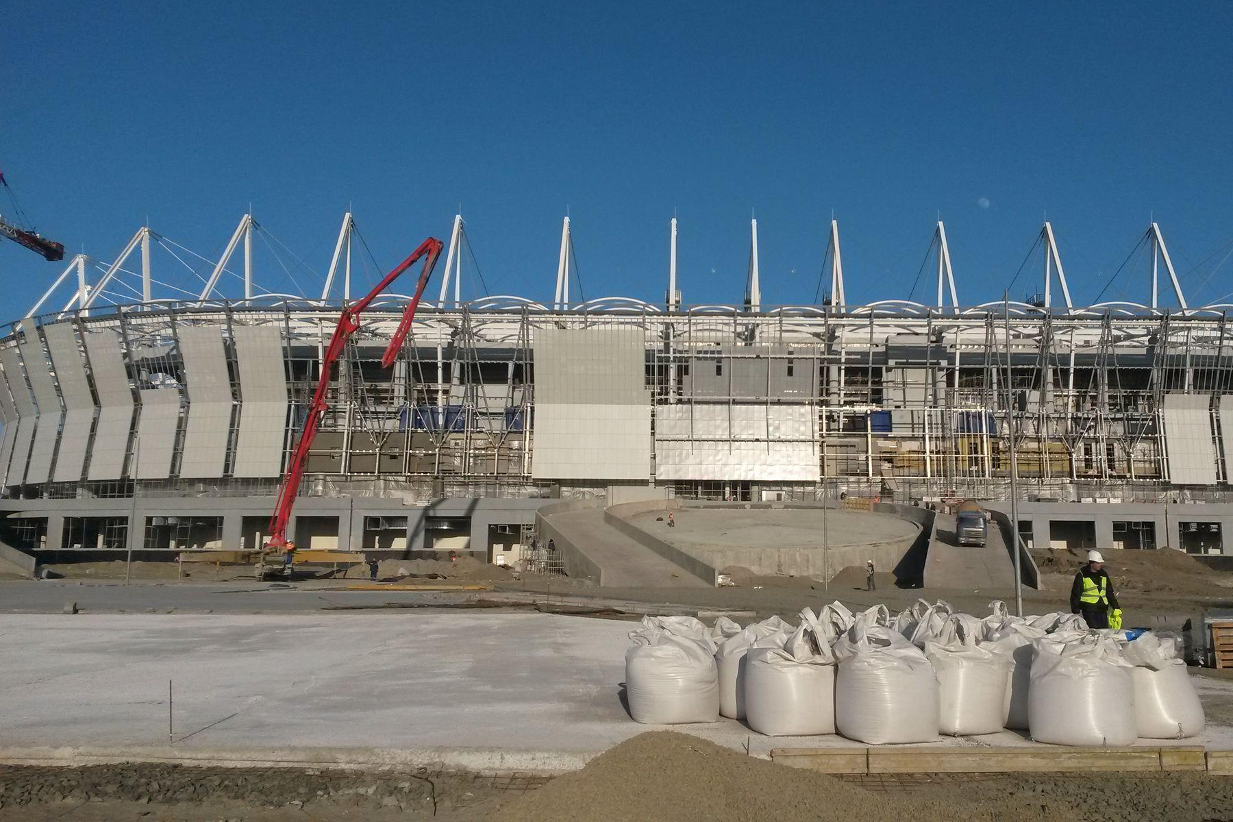 Стадион «Ростов Арена» готов на75%