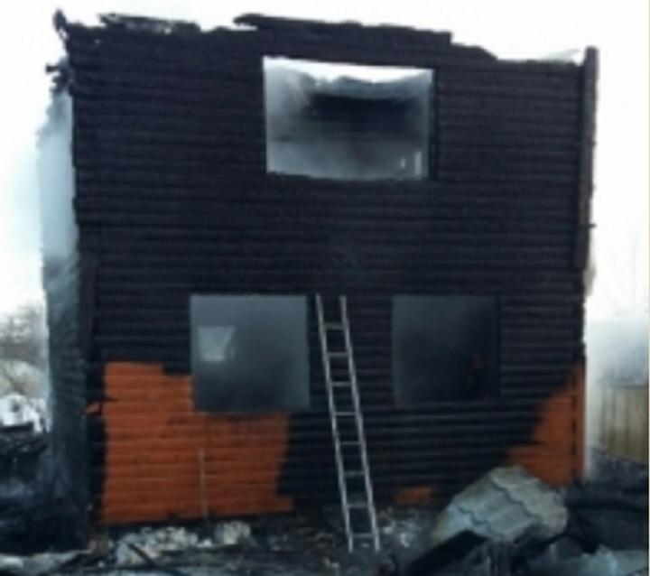 Женщина иее2-летний ребенок погибли впожаре вИжевске