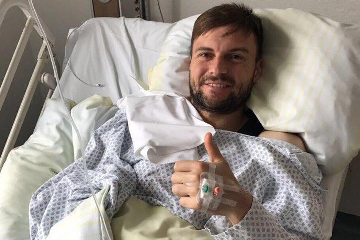 Футболист изУлан-Удэ Владимир Гранат удачно прооперирован в германской клинике
