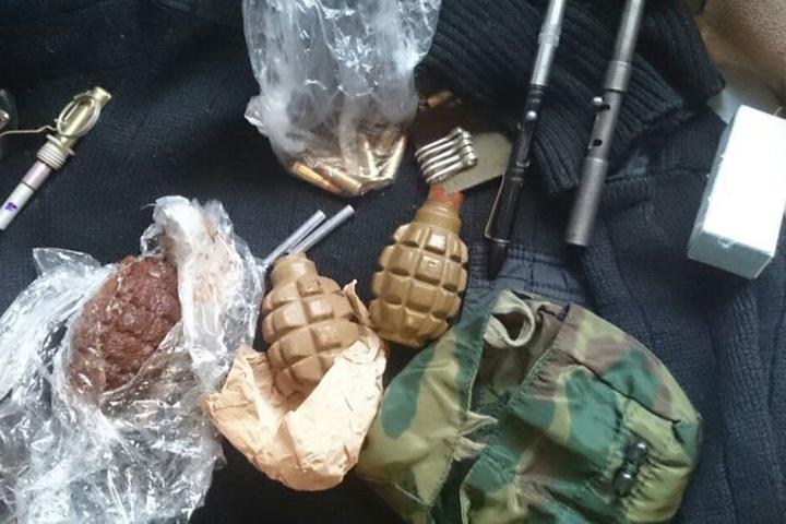 Упассажира поезда «Москва-Владивосток» отыскали арсенал оружия