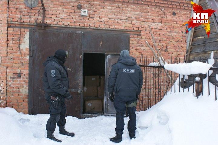 ВКузбассе полицейские конфисковали три тонны «палёного» алкоголя