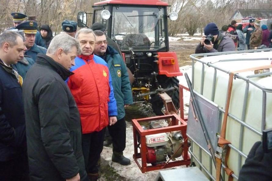 Вцентральные регионы РФ пришел весенний паводок