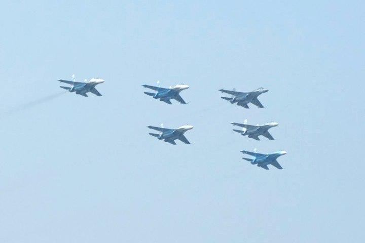Истребители изЛипецка вылетели навоздушный парад вСмоленск
