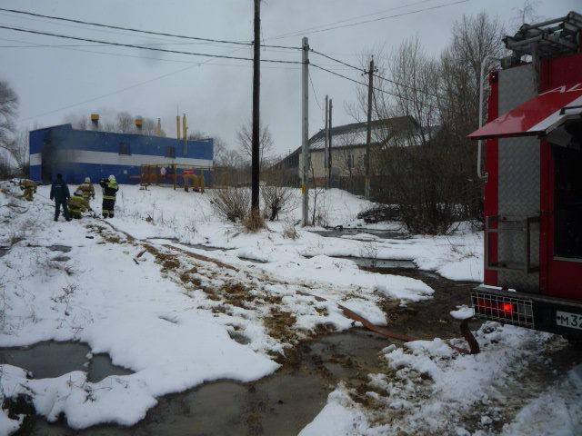 ВЧерни нагазораспределительной подстанции вспыхнул пожар