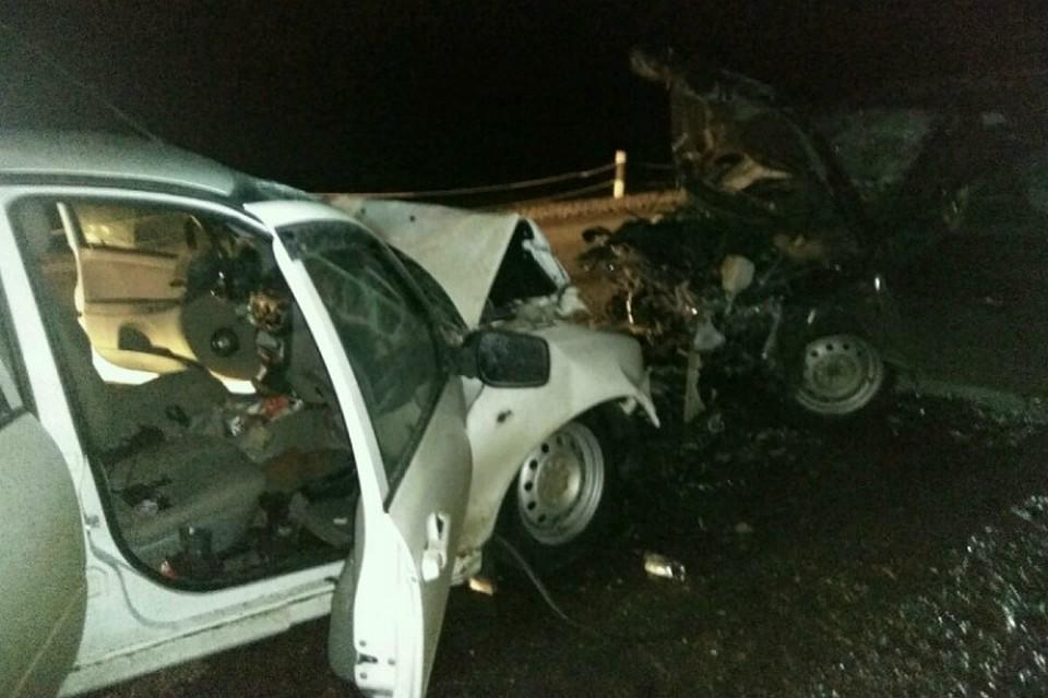 ВБашкирии три человека погибли вДТП сучастием 2-х легковушек