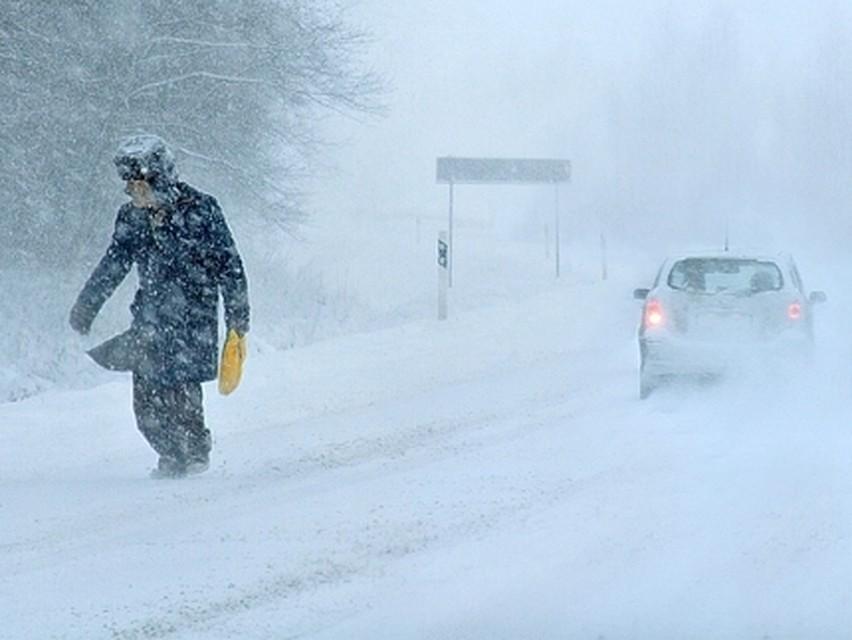 Метель, снегопад игололед. Госавтоинспекция сообщает осложных погодных условиях вЮгре
