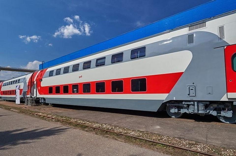 ИзВоронежа в столицуРФ с1июня запустят два новых двухэтажных поезда