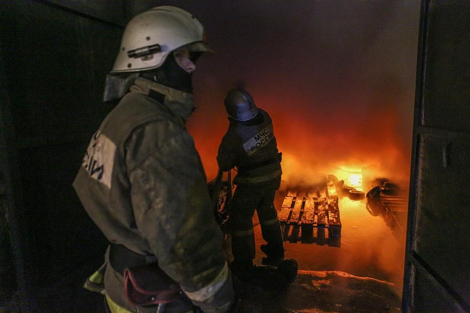 ВКанашском районе впожаре погибли двое местных граждан