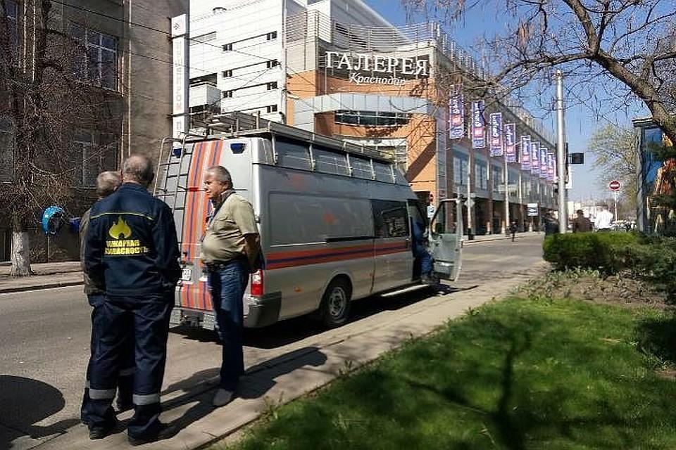 Гражданин Краснодара схвачен после сообщения обомбе в коммерческом центре