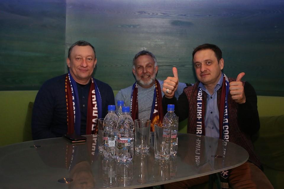 Игорь Поваров (справа) отметил, что проблемы, которые есть сейчас - это не повод опускать руки и прекращать работу над нововведениями