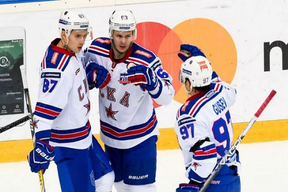 Хоккеисты «Металлурга» сравняли счет в заключительной серии Кубка Гагарина против СКА