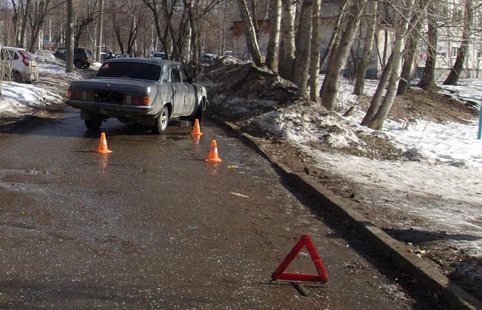 10-летнюю девочку-пешехода сбил шофёр «Волги» вИжевске