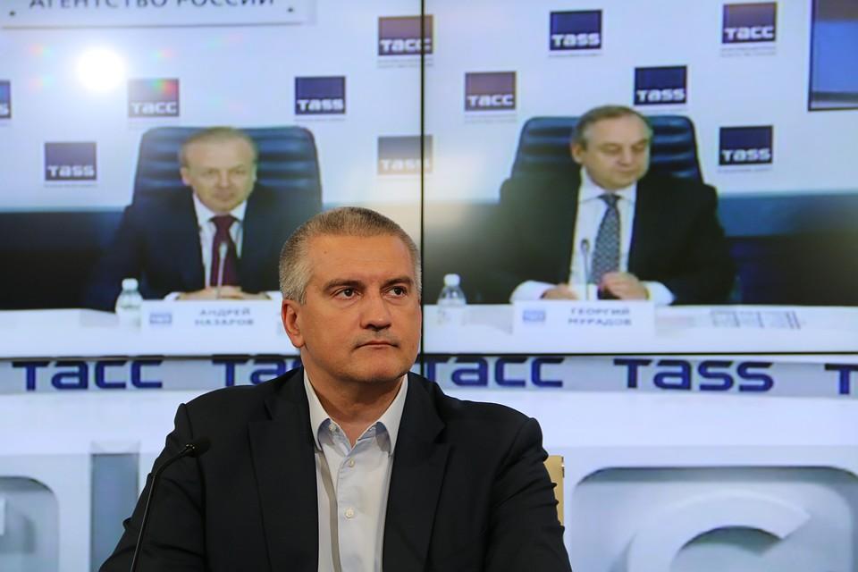 Аксенов считает, что ЯМЭФ имеет для Крыма огромное политическое значение
