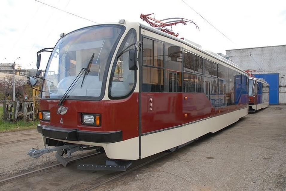 ВТуле наМарата демонтируют трамвайные пути