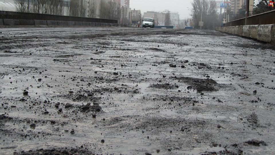 ВВоронеже из-за снегопада приостановят полноценный ремонт дорог