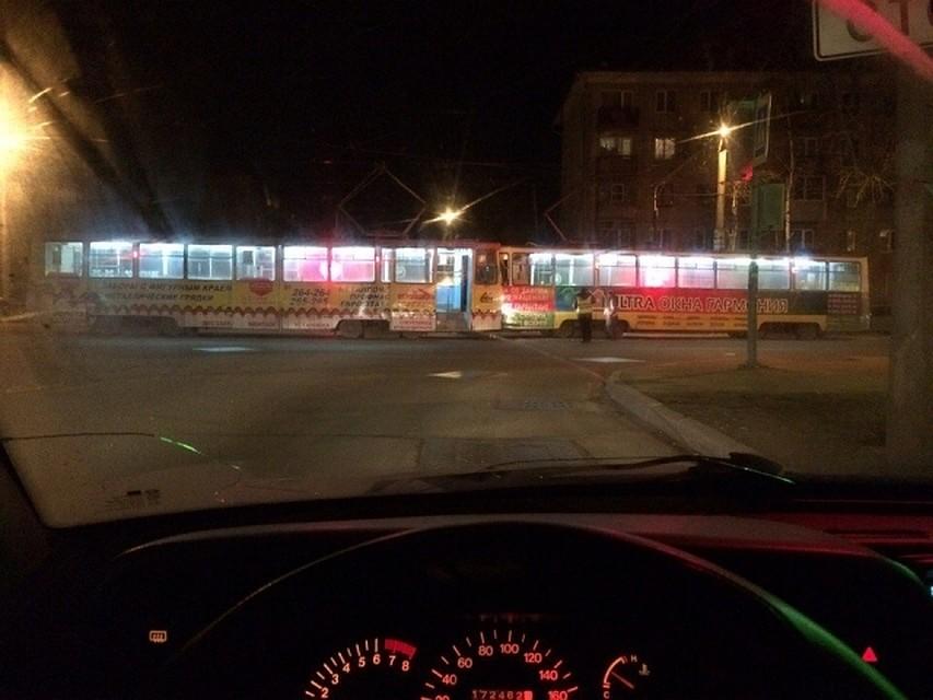 Два трамвая столкнулись лоб влоб вЧереповце