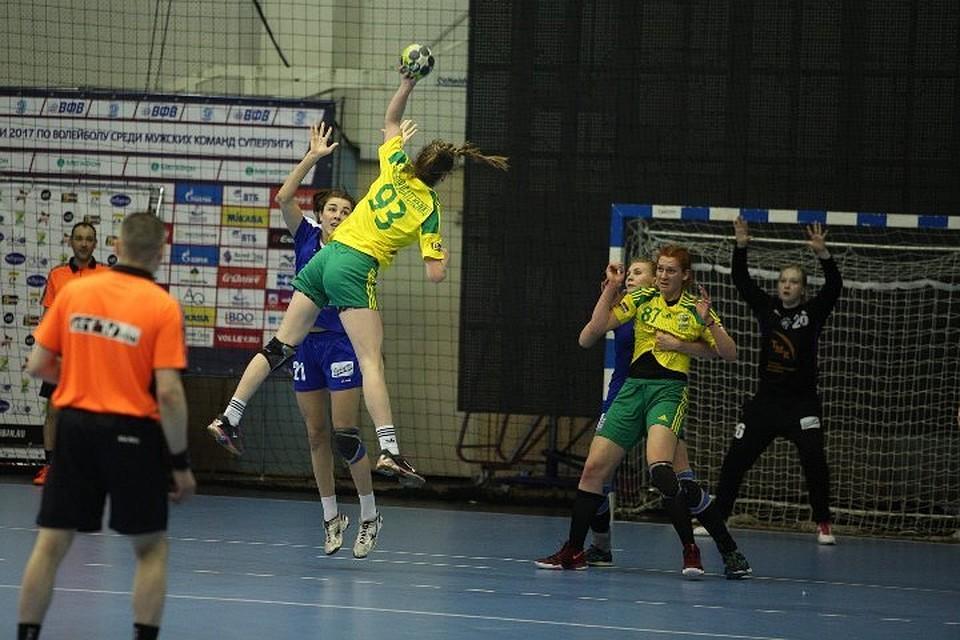 «Кубань» вышла вполуфинал чемпионата Российской Федерации погандболу