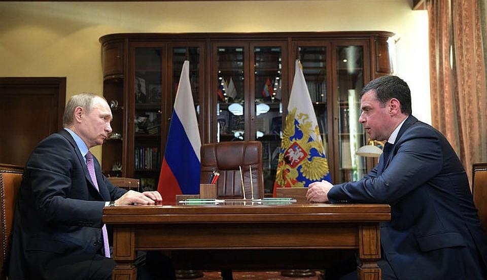 Очем договорились руководитель Ярославской области сПутиным— Встреча спрезидентом