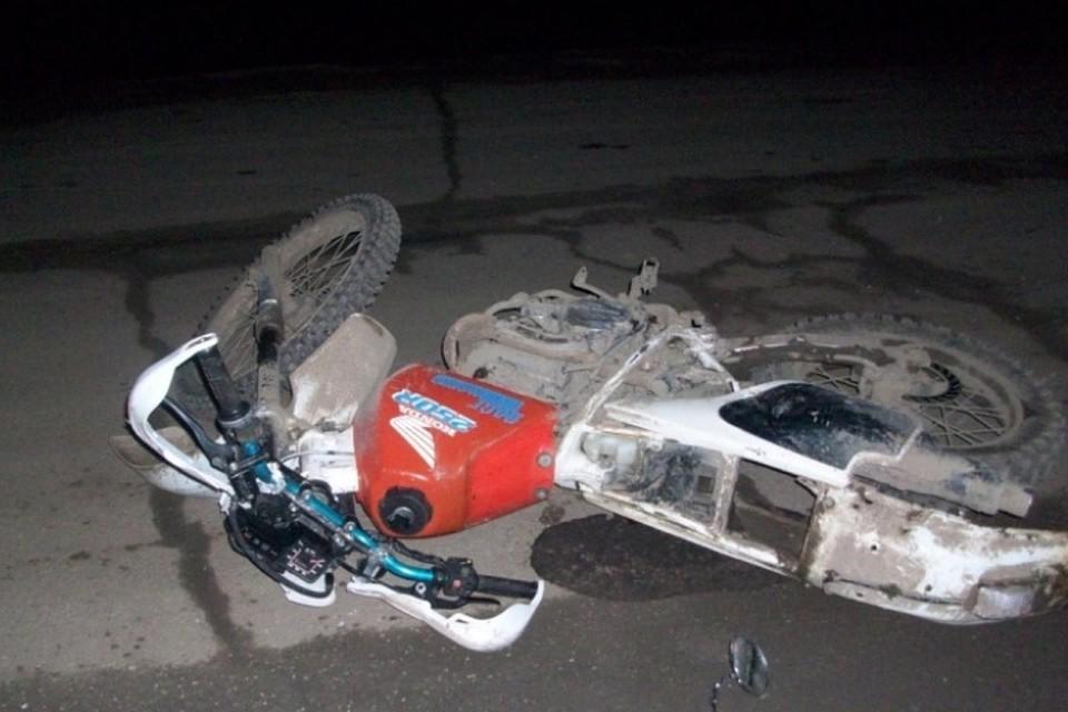 ВПермском крае в трагедии серьёзно пострадал мотоциклист