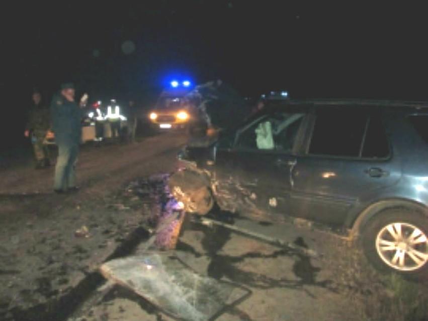 Под Ярославлем столкнулись «Мерседес» и«ВАЗ», один человек умер