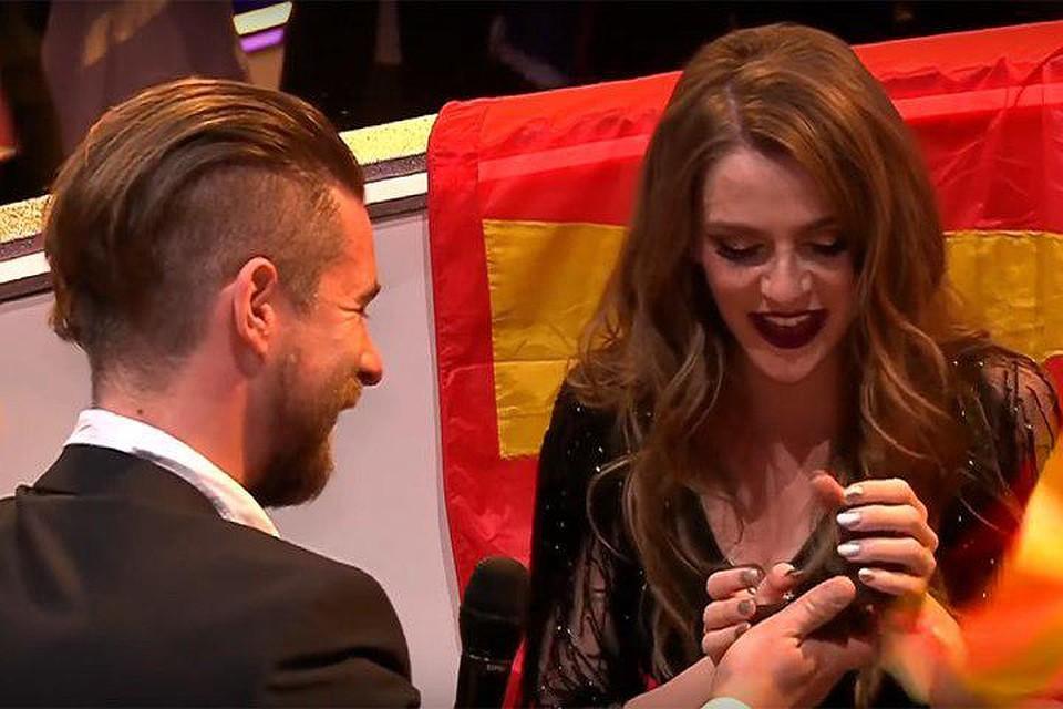 Беременной участнице «Евровидения» сделали предложение впрямом эфире