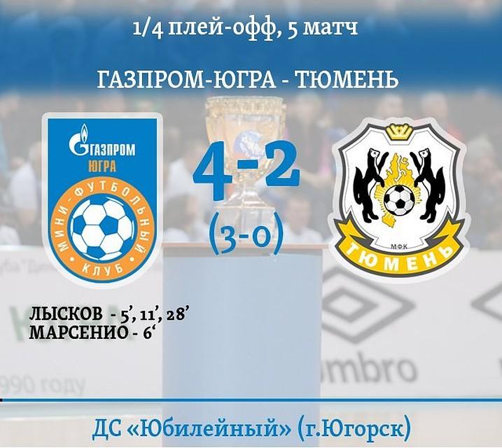 «Сибиряк», «Газпром-Югра» и«Динамо»— вполуфинале суперлиги