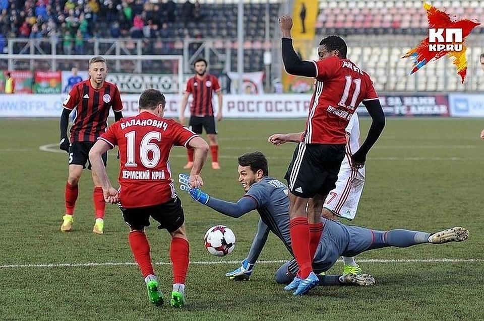 Кто рассудит матч тульского «Арсенала» с«Амкаром»