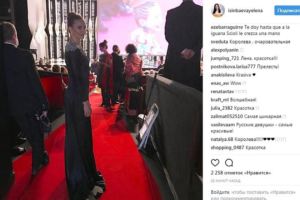 .Елена Исинбаева сообщила, что впервые вжизни летит наКаннский кинофестиваль