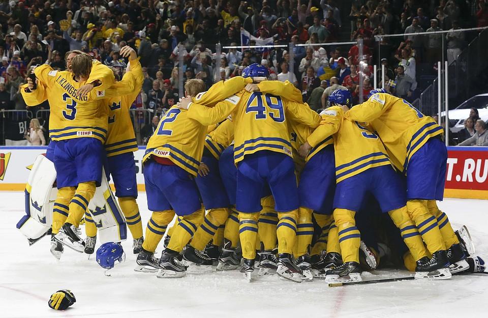Швеция обыграла Канаду в финале чемпионата мира по хоккею