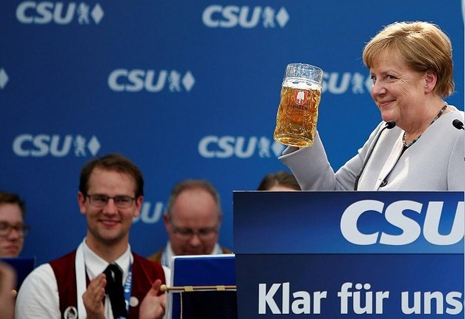 Меркель призвалаЕС неполагаться на остальных