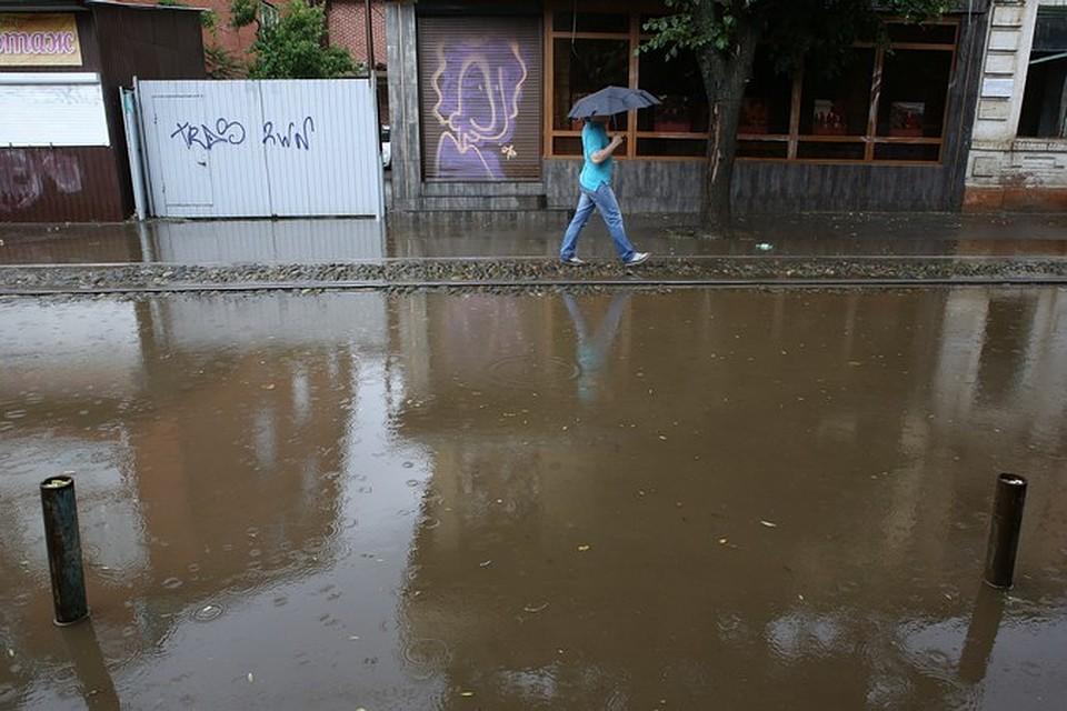 ВСеверском районе Кубани введен режимЧС из-за подтоплений