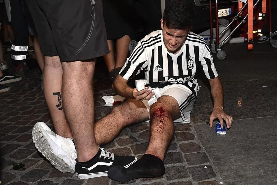 Вдавке после финала Лиги чемпионов «Ювентус»— «Реал» пострадали 600 человек