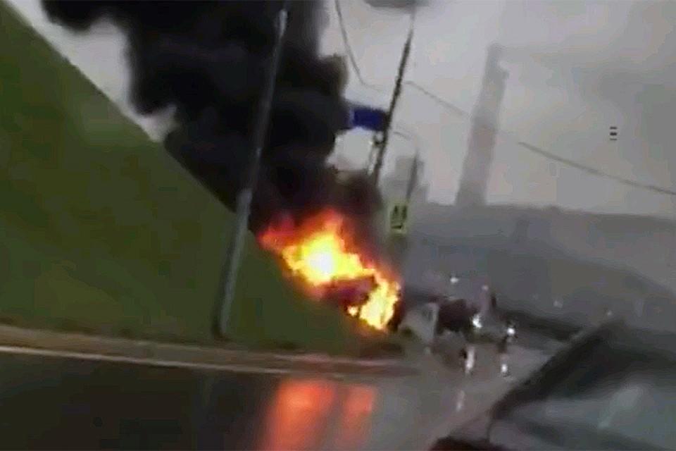 Друзья мажора, сгоревшего на«мазерати», устроили ДТП спострадавшими в столице России