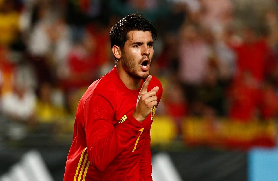 Футболисты сборной Испании сыграли вничью 2:2 сКолумбией