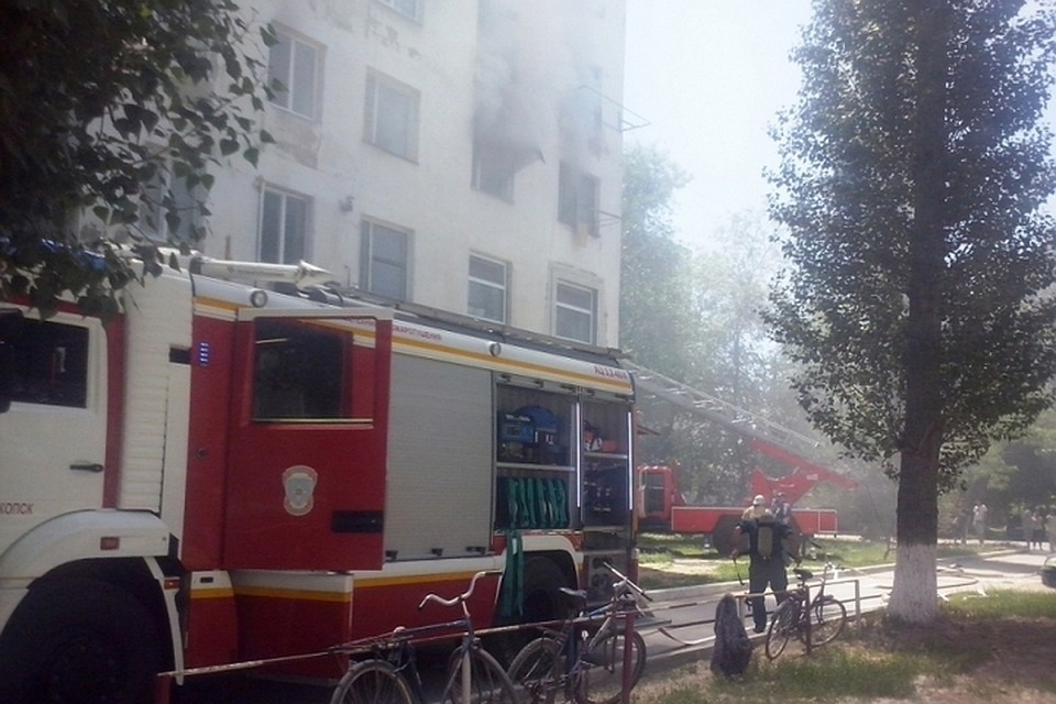 Напожаре вКрыму чуть непогибло 4 ребенка