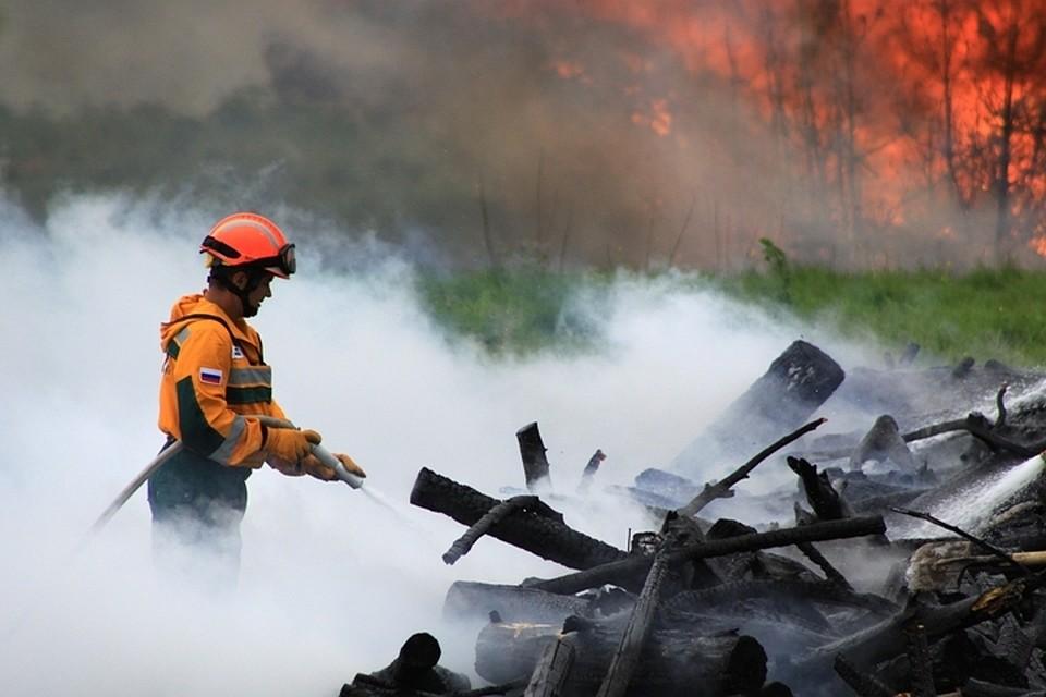 40 дачных домов пламенеют вБурятии