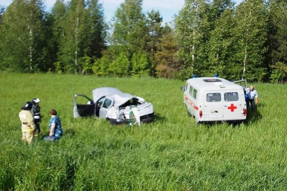 ВТатарстане пострадавший вДТП шофёр убежал сместа трагедии