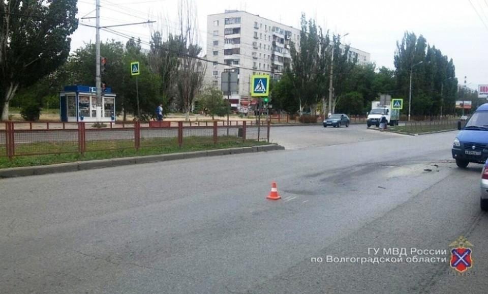 ВВолгограде шофёр сбил пешехода ибросил его