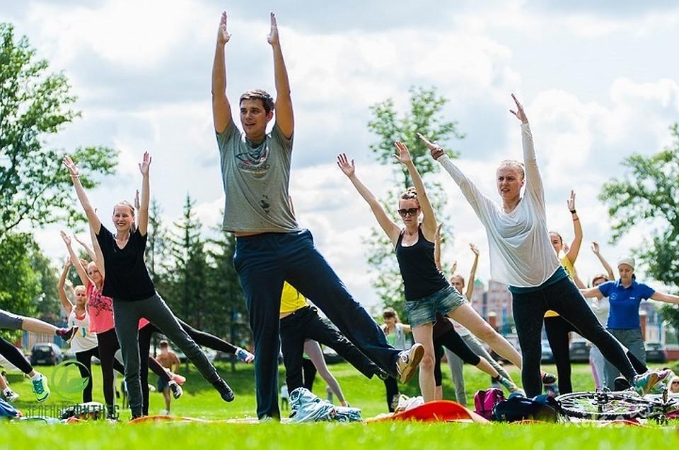 «Зеленый фитнес» возвращается впарки искверы Казани