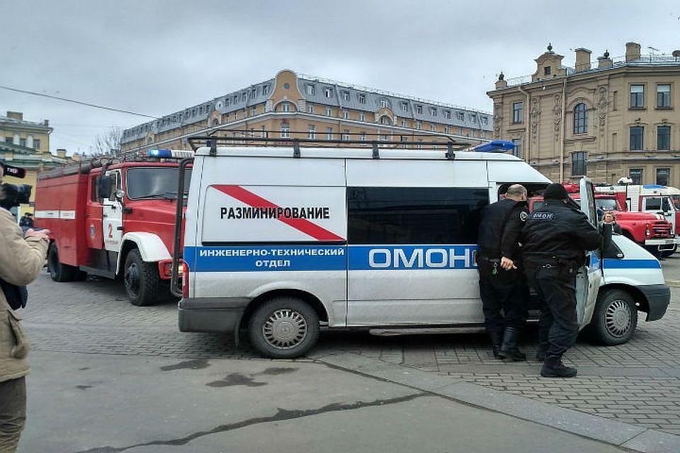 Станцию «Сенная площадь» вПетербурге закрывали для проверки