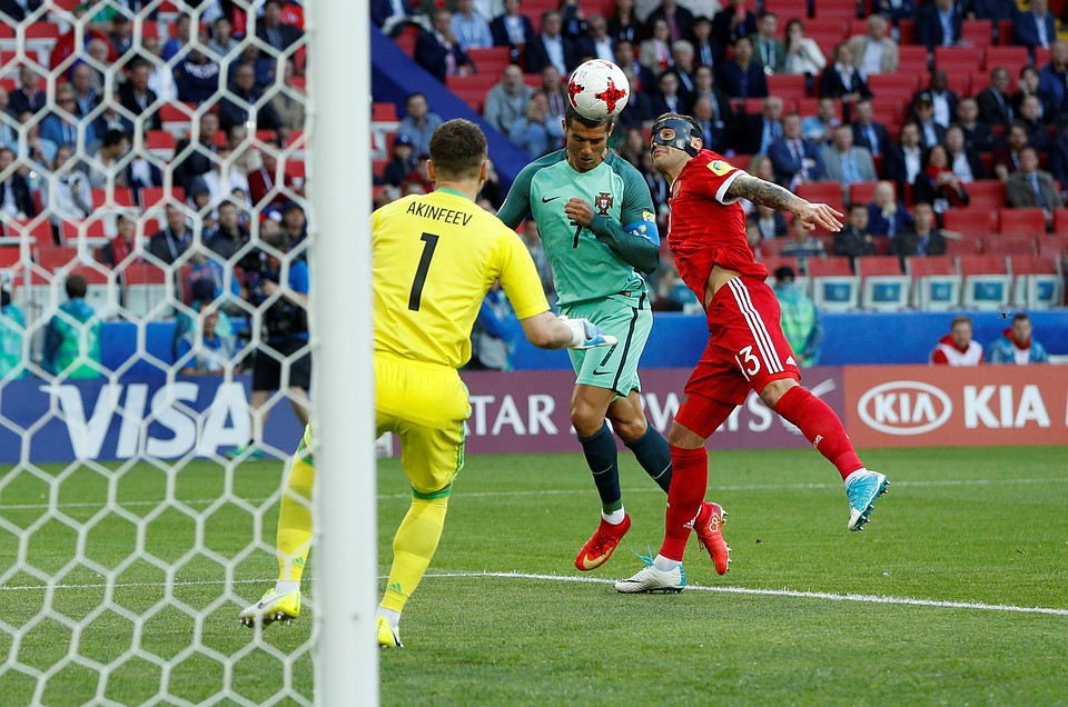 Акинфеев— 18-й европейский вратарь, сыгравший засборную 100 матчей