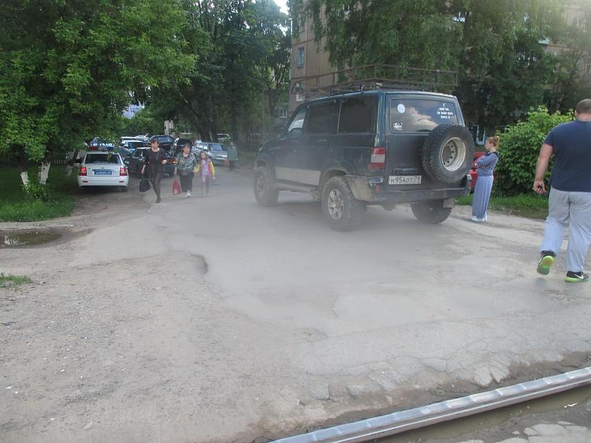 ВТуле шофёр на«УАЗе» наехал намаму с ребенком