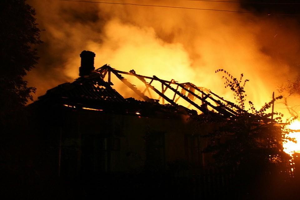 Женщина погибла вовремя пожара из-за молнии вНовосибирской области