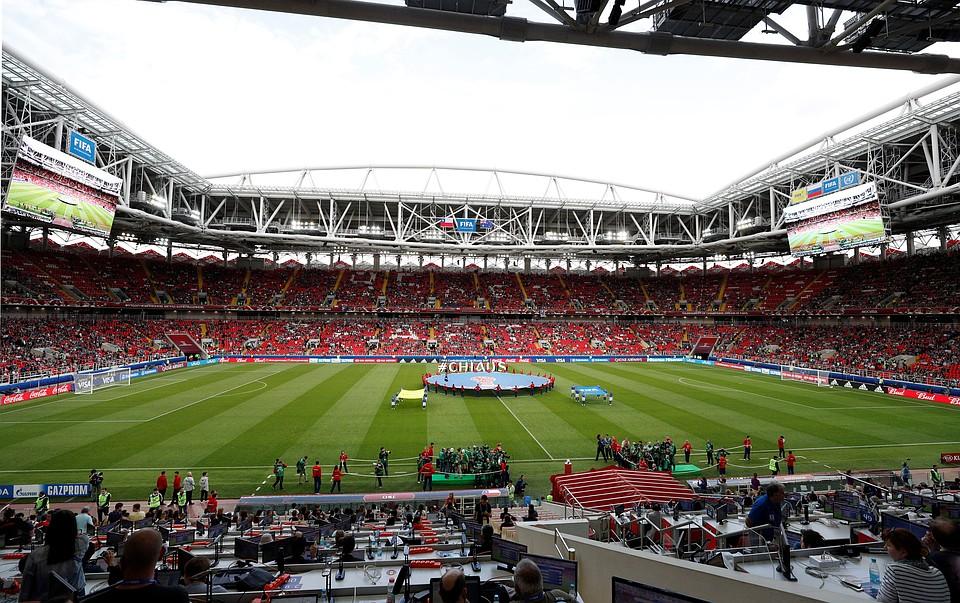 Практически полмиллиона наблюдателей посетили матчи группового этапа Кубка Конфедераций