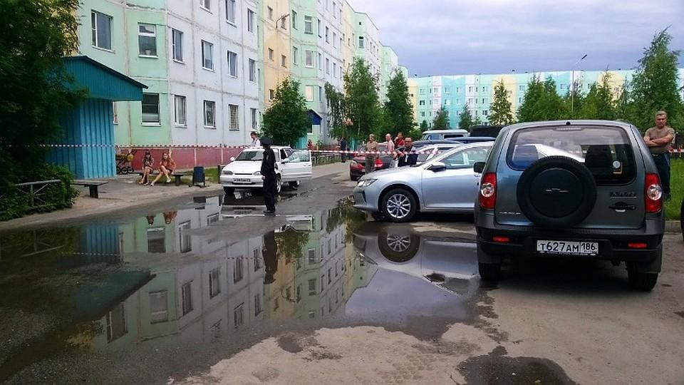 ВХМАО провалились плиты перекрытия впятиэтажке: граждан эвакуировали