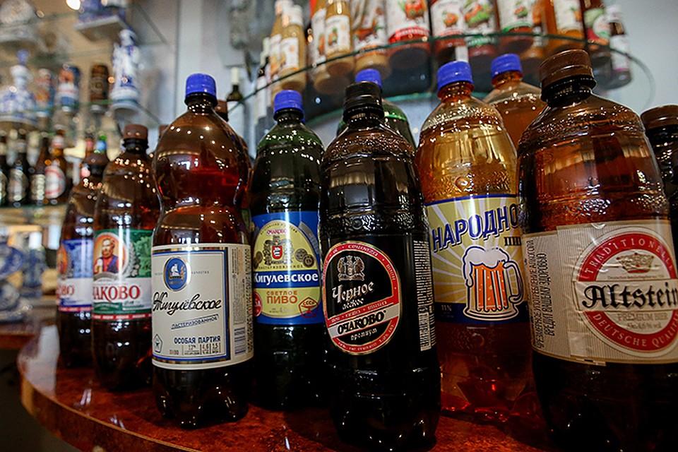 В Российской Федерации запретили большие бутылки с спиртом