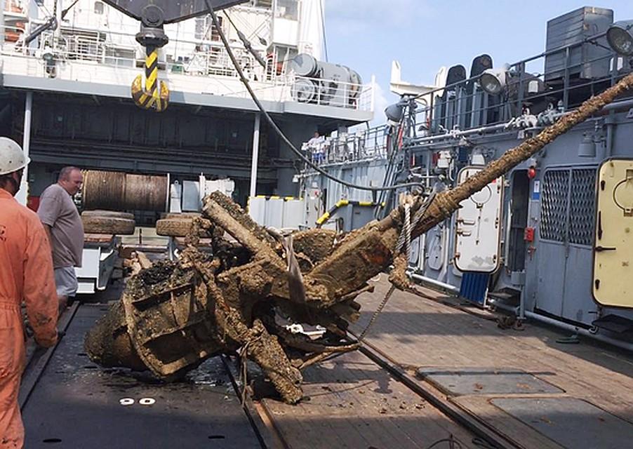 Минобороны займется поиском затонувших кораблей уберегов Крыма