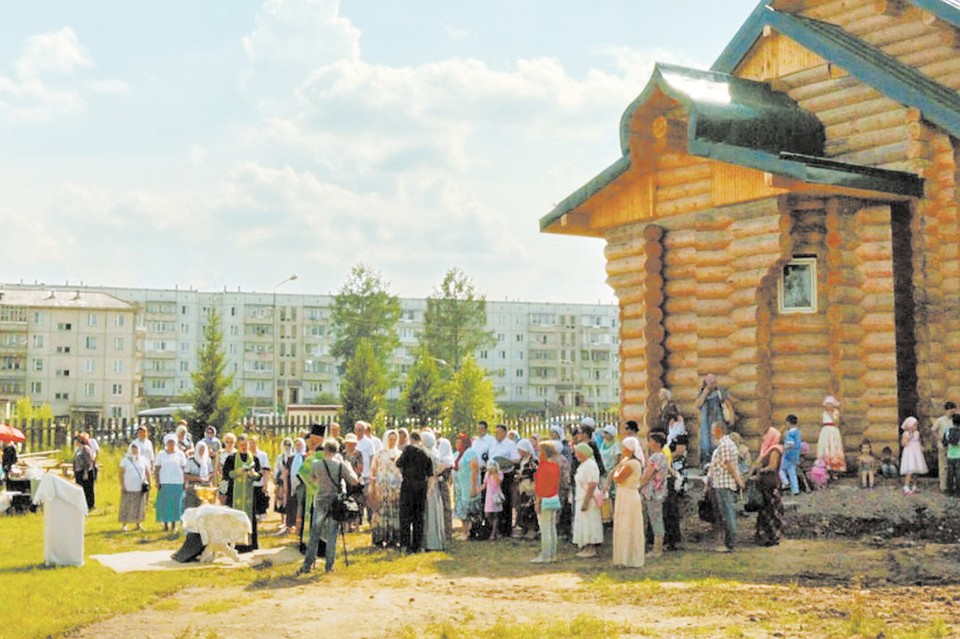 Екатеринбургу подарили мощи Петра иФевронии