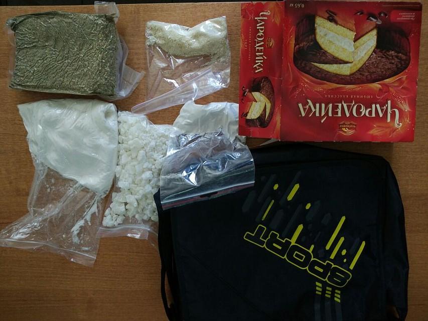 Иностранец пытался натакси перевезти из столицы вВолгоград партию наркотиков