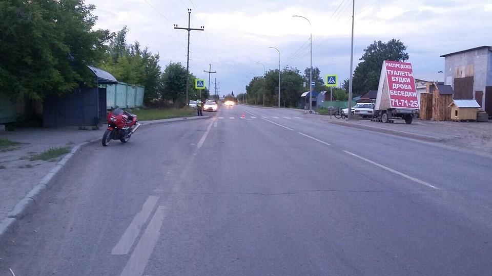 ВЕкатеринбурге два мотоциклиста пострадали вавариях: один человек умер